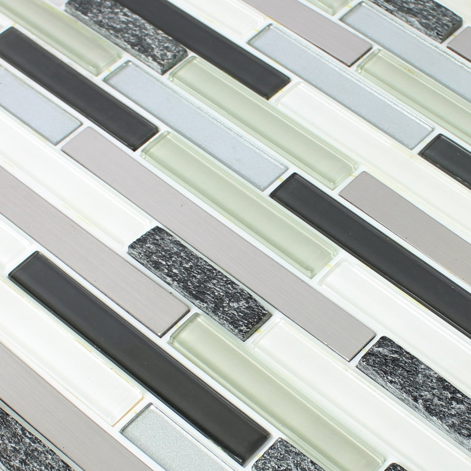 Self Adhesive Glass Backsplash Tiles Adhesive Tile