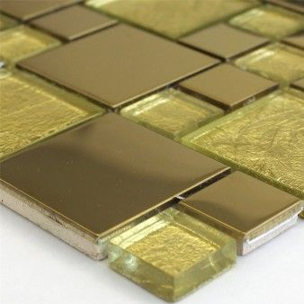 Glass Metal Mosaic