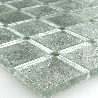 Glass Mosaic Metal 8mm