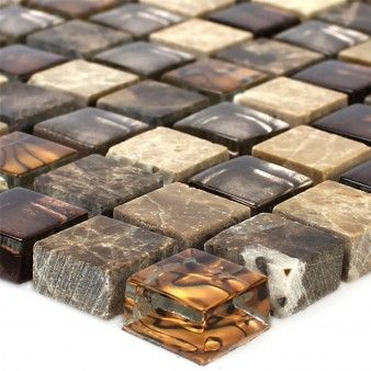 Glass Natural Stone Mosaic