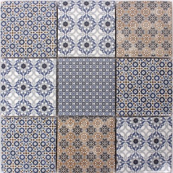 Mosaic Tiles Ceramic Cement Optic Classico