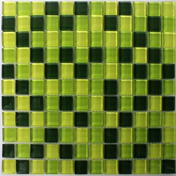 Mosaic Tiles Glass 23x23x8mm Madagascar