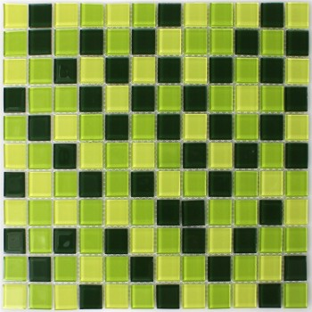 Mosaic Tiles Glass 23x23x4mm Madagascar