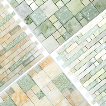 Mosaic Tiles Larinera Onyx Glass Mix