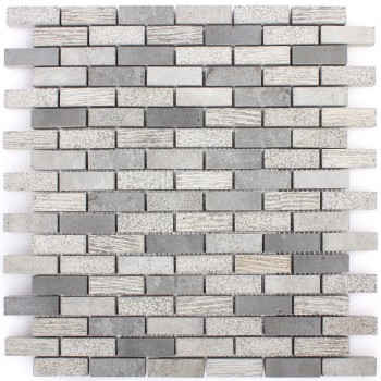 Mosaic Tiles Daimon Stone Carving Mix Cement Grey