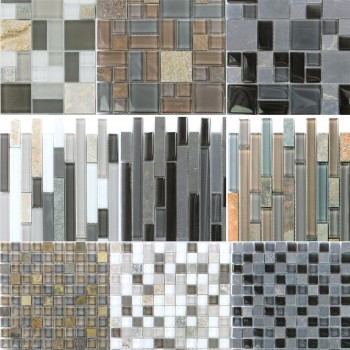 Mosaic Tiles Natural Stone Glassmix Apollo