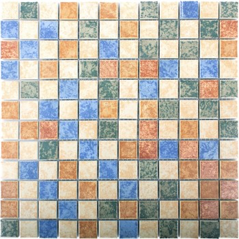 Ceramic Mosaic Tiles Zotte Colored Mix