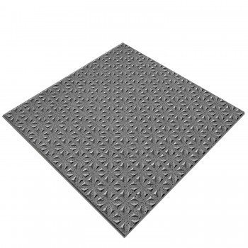Floor Tiles Fine Grain R12/V4 Anthracite Mat 15x15cm