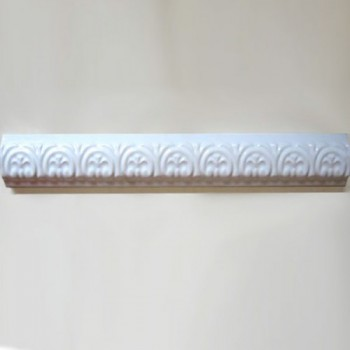 Wall Tile Border White Brilliant Barock 3,5x30cm