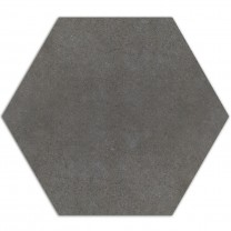 Cement Tiles Optic Hexagon Floor Tiles Alicante Dark Grey