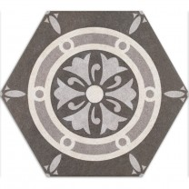Cement Tiles Optic Hexagon Floor Tiles Alicante Decor Royal