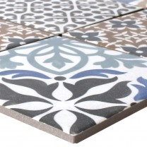 Mosaic Tiles Ceramic Campeche Cement Optic