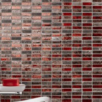 Mosaic Tiles Natural Stone Glass Mix Funchal