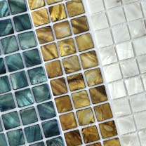 Mosaic Tiles Glass Nacre Effect Tomar