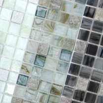 Mosaic Tiles Glass Natural Stone Daily Rush