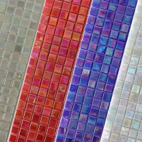 Glass Mosaic Tiles Ventura Nacre Effect