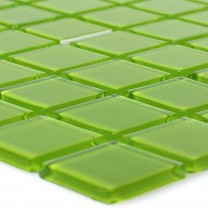 Glass Mosaic Tiles Florida Green