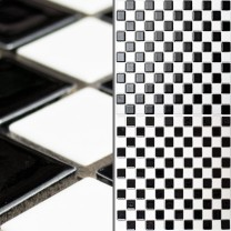 Mosaic Tiles Ceramic Chess Board