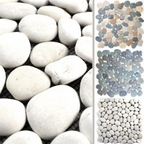 Mosaic Tiles River Pebbles Natural Stone Doha