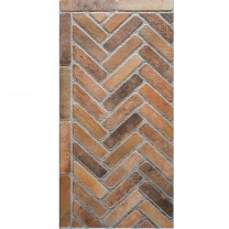 Floor Tiles Country House Style Freeland Brown 45x90cm R11
