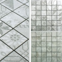 Ceramic Mosaic Vintage Tiles Coupe R10/B