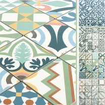 Ceramic Mosaic Retro Tiles Utopia R10/B