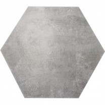 Floor Tiles Halesia Stone Optic Hexagon Grey 52x60cm