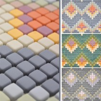 Glass Mosaic Tiles Haramont