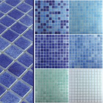 Glass Swimming Pool Mosaic Lagune R11C