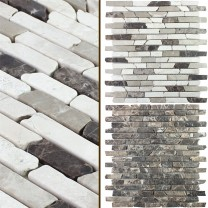 Marble Natural Stone Mosaic Rocky