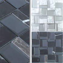 Glass Natural Stone Mosaic Lapseki