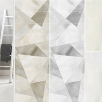 Wall Tiles Queens Rectified Sand White