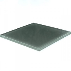 Glass Tiles Dark Grey Uni 100x100x5mm