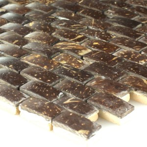 Mosaic Tiles Kokosnuss Toffee 10x20x8mm