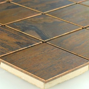 Mosaic Tiles Copper Quadrat 48x48x8mm