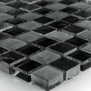 Mosaic Tiles Glass Marble Zambia 15x15x8mm