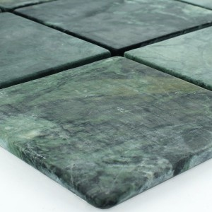 Mosaic Tiles Marble 98x98x8mm Verde Green