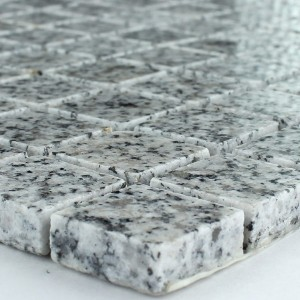 Mosaic Tiles Granit 23x23x8mm Kashmir White