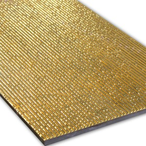 Wall Decor Tiles Gold 30x60cm