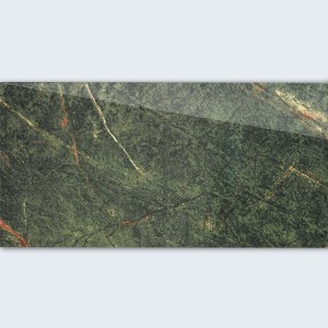 Floor Tiles Saturn Polished Verde Green Marbled 30x60cm