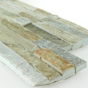 Brickstones White Sand Mix 15x40cm
