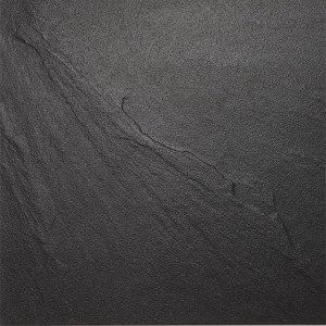 Floor Tiles Slate Optic Black 60x60cm