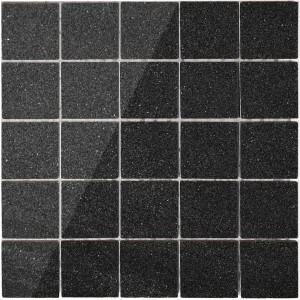Mosaic Tiles Stella Anthracite Polished