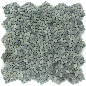 River Pebbles Mosaic Micro Anthracite