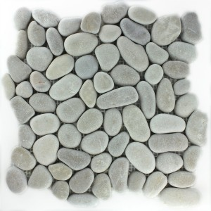 Mosaic Tiles River Pebbles Tan