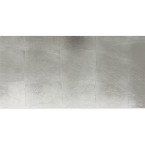 Glass Tiles Decor Silver Metal Effect 30x60cm