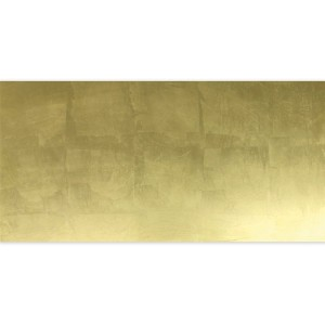 Glass Tiles Decor Gold Metal Effect 30x60cm
