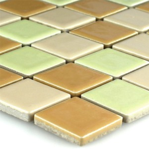 Mosaic Tiles Ceramic Yellow Mix
