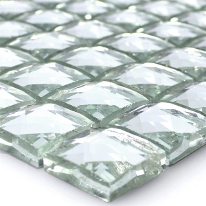 Mosaic Tiles Glass Brilliant White