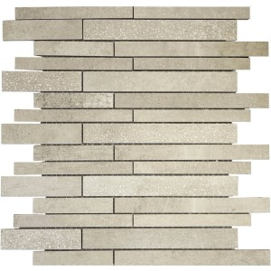 Mosaic Tiles Boston Grey Mat Semi Polished Verband